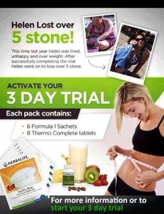 herbalife-3-day-trial-starter-pack
